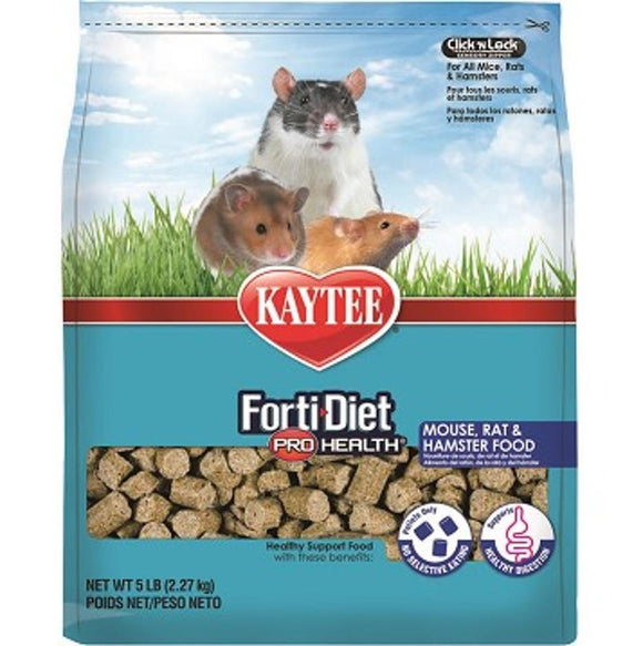 KAYTEE FORTIDIET PROHEALTH MOUSE/RAT FOOD