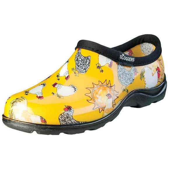 Sloggers Women's Waterproof Comfort Shoe- Chicken Yellow