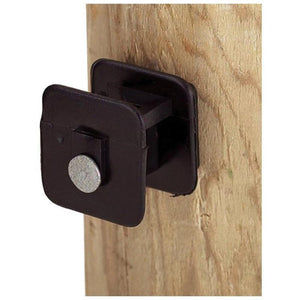 BLACK WIDOW INSULATOR FOR WOOD POST