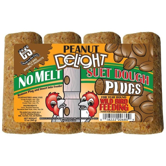 C&S DELIGHT NO MELT SUET DOUGH PLUGS