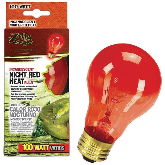 NIGHT RED HEAT INCANDESCENT BULB