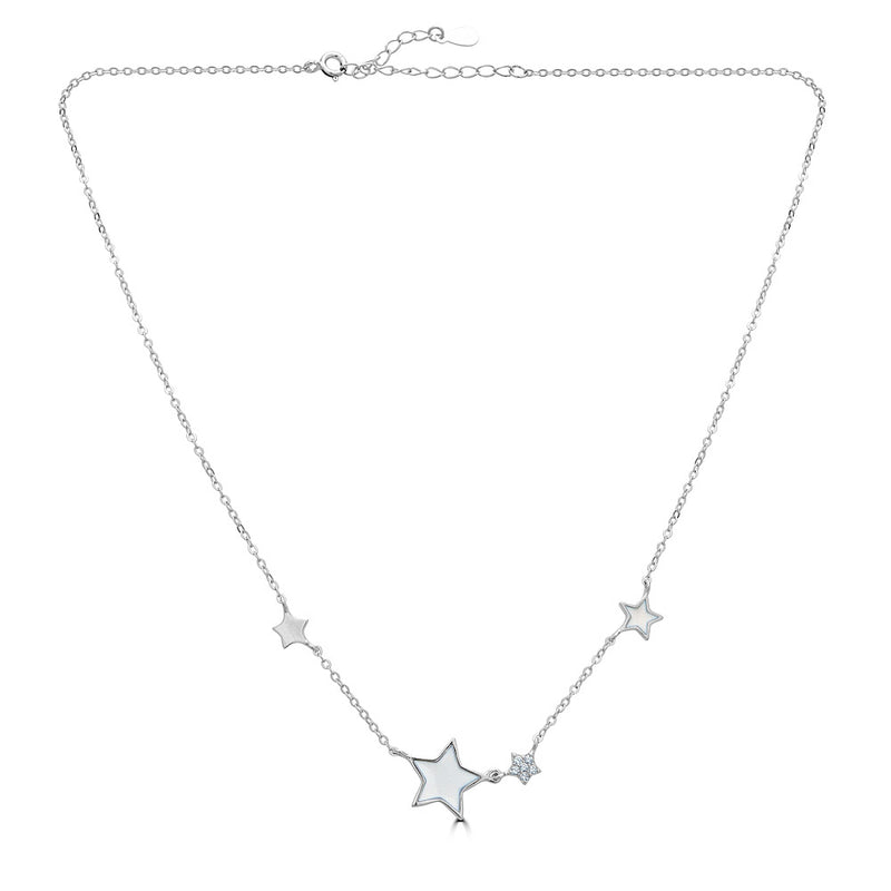 Enamel Moon and Pave Star