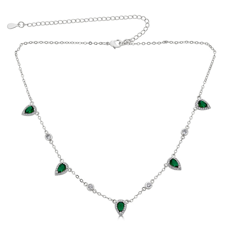 Emerald Tear drop
