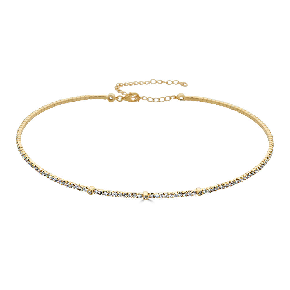 Pave Coil Choker