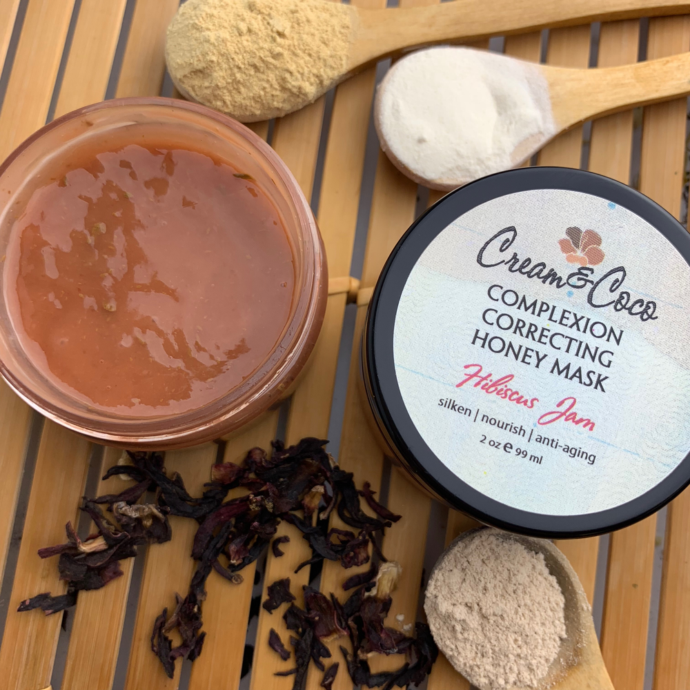 Hibiscus Jam Complexion Correcting Honey Mask