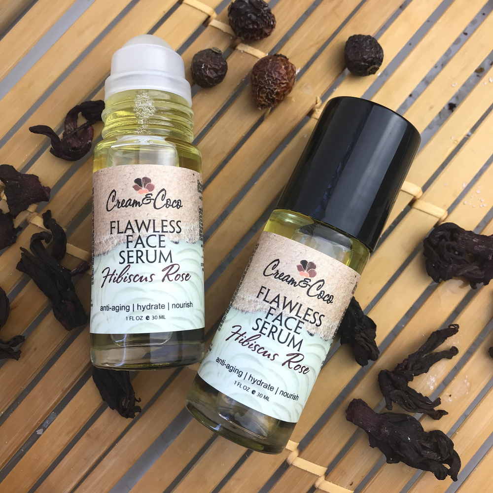 Hibiscus Rose Flawless Facial Serum