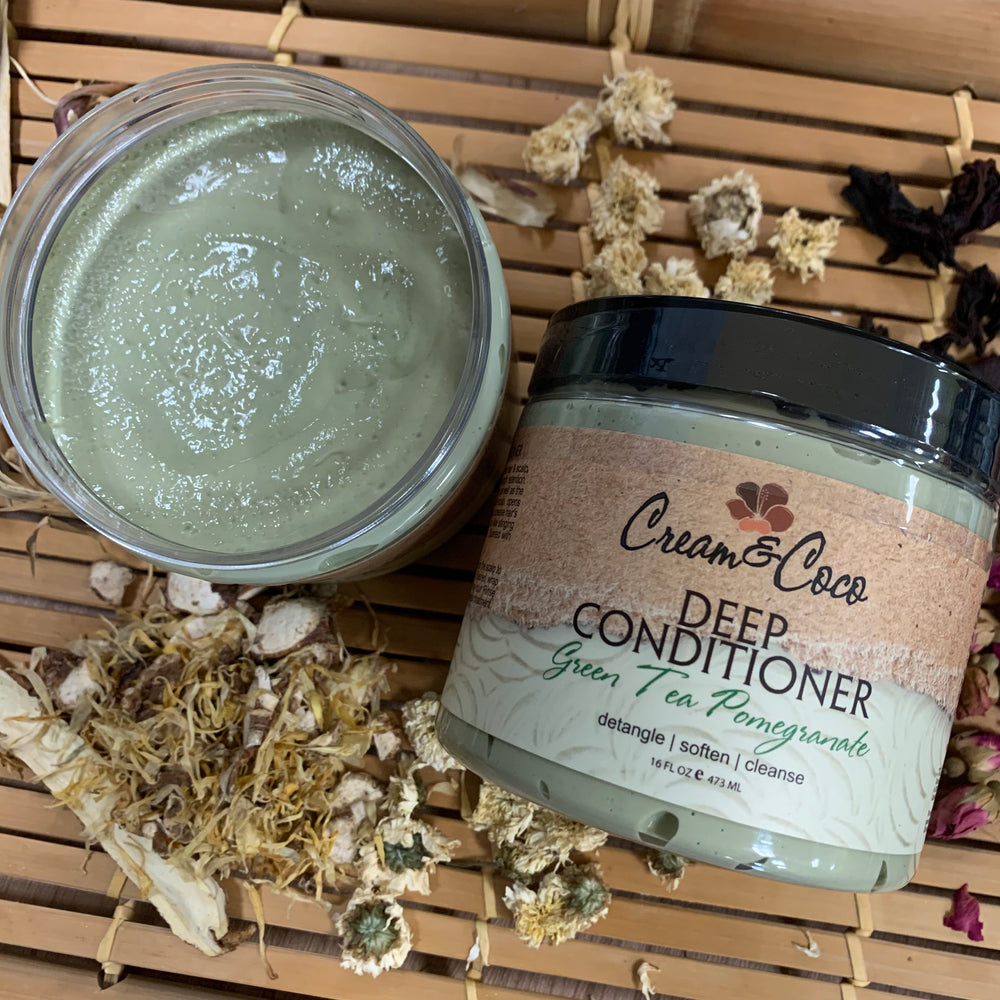 Green Tea Pomegranate Deep Conditioner