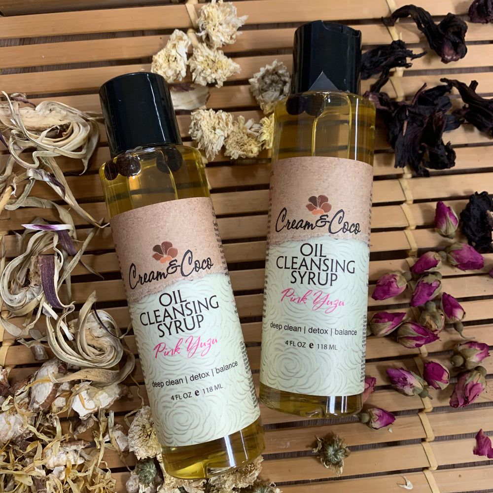 Pink Yuzu Oil Cleansing Syrup