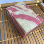 Pink Cookie Swirl Soap Brick