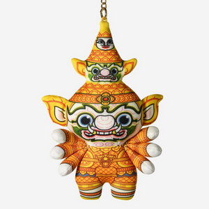 Ramakien Guardian Keychain - SAHASSADEJA - SHOP By Travel Recommends