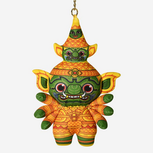 Ramakien Guardian Keychain - THOTSAKAN - Travel Recommends Shop