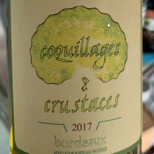 "2017 Verget ""Coquillages et Crustaces"" Blanc - Travel Recommends Shop"