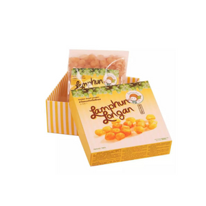 Sawasdee Golden Dried Lamphun Longan in box 250g. - Travel Recommends Shop