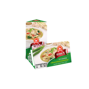 Instant Green Curry Paste Box 200g. - Travel Recommends Shop