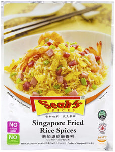 Seah's Spices Singapore Fried Rice Spices 42g - Travel Recommends Shop