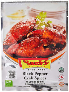 Seah's Spices Black Pepper Crab Spices 42g - SHOP By Travel Recommends