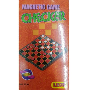 Checker Game (Magnetic Box) - Travel Recommends Shop