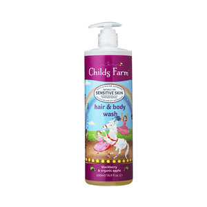 Childs Farm Hair & Body Wash, Blackberry & Organic Apple 500ml