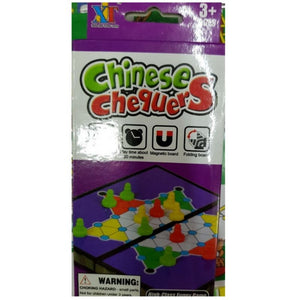 Chinese Chequers (Magnetic Box) - Travel Recommends Shop