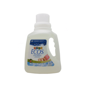 ECOS BABY LAUNDRY DETERGENT FREE AND CLEAR 50oz