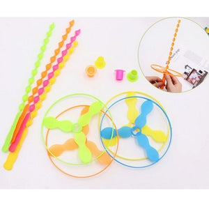 Helicopter Frisbee (Random Colors) - Travel Recommends Shop