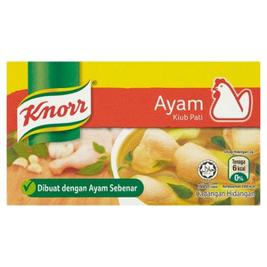 Knorr Seasoning Chicken 6 Cubes 60g (Groceries) - Travel Recommends Shop