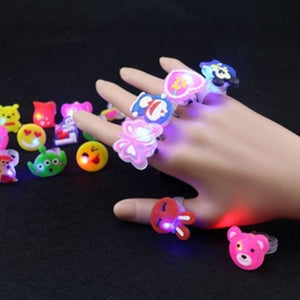 LED Flashing Rings (Random Designs) - Travel Recommends Shop