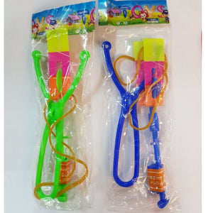 LED Slingshot Helicopter (Random Colors) - Travel Recommends Shop