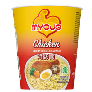 [Carton Sale] Myojo Cup Noodles Quick Cup - Chicken (24 per carton) - Travel Recommends Shop