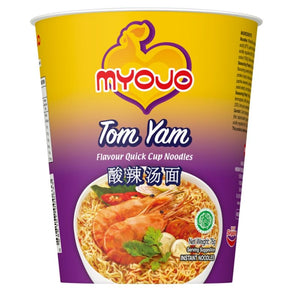 [Carton Sale] Myojo Cup Noodles Quick Cup - Tom Yam (24 per carton) - Travel Recommends Shop