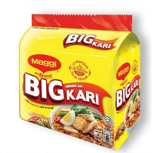 Maggi 2 Minute Noodles Big Curry 5 x 111g (Groceries) - Travel Recommends Shop