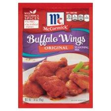 McCormick Original Buffalo Wings Seasoning Mix 45g (Groceries) -Travel Recommends Shop