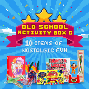 Old-School Activity Box - Set C