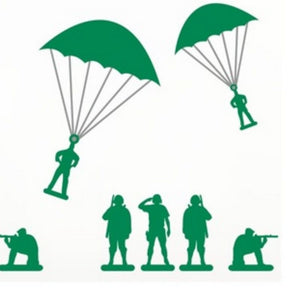 Parachute Soldier (Random Color) - Travel Recommends Shop