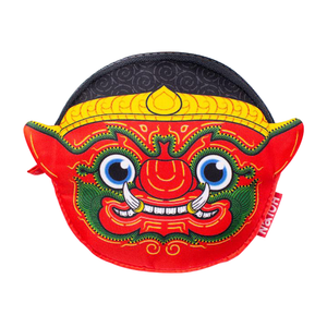 Ramakien Coin Bag - Rithikasoon - SHOP By Travel Recommends
