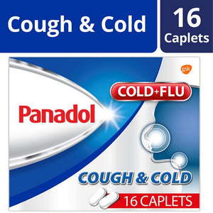 Panadol Cough and Cold 16s - Travel Recommends Shop