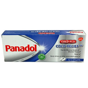 Panadol Cold Relief PE 12s - Travel Recommends Shop