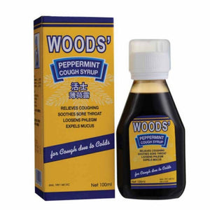 Woods' Peppermint Cough Syrup 100mL - Travel Recommends Shop