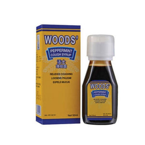 Woods' Peppermint Cough Syrup 50mL - Travel Recommends Shop