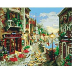 [Pre-order] 40 x 50cm DIY Paint by Numbers Canvas Set - Design JY253 - Travel Recommends Shop