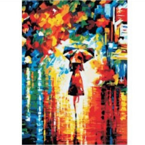 [Pre-order] 40 x 50cm DIY Paint by Numbers Canvas Set - Design R-103 - Travel Recommends Shop
