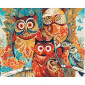 [Pre-order] 40 x 50cm DIY Paint by Numbers Canvas Set - Design R-160 - Travel Recommends Shop