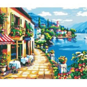 [Pre-order] 40 x 50cm DIY Paint by Numbers Canvas Set - Design R-175 - Travel Recommends Shop