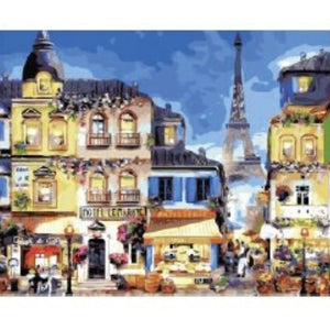 [Pre-order] 40 x 50cm DIY Paint by Numbers Canvas Set - Design Y080 - Travel Recommends Shop