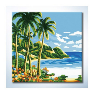 Paint By Numbers (25x25cm) - Design 25023 - Travel Recommends Shop