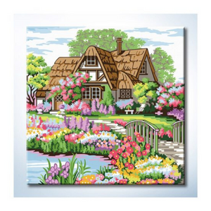 Paint By Numbers (25x25cm) - Design 25027 - Travel Recommends Shop