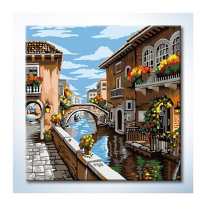 Paint By Numbers (25x25cm) - Design 25028 - Travel Recommends Shop