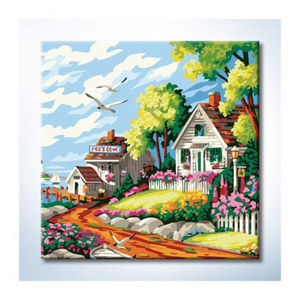 Paint By Numbers (25x25cm) - Design 25029 - Travel Recommends Shop