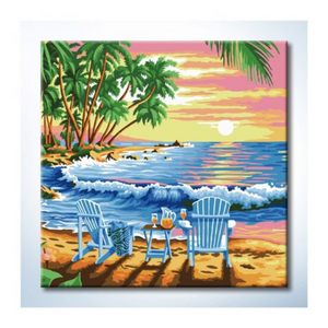 Paint By Numbers (25x25cm) - Design 25001 - Travel Recommends Shop