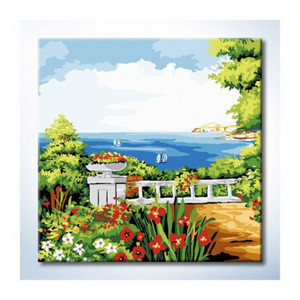 Paint By Numbers (25x25cm) - Design 25030 - Travel Recommends Shop